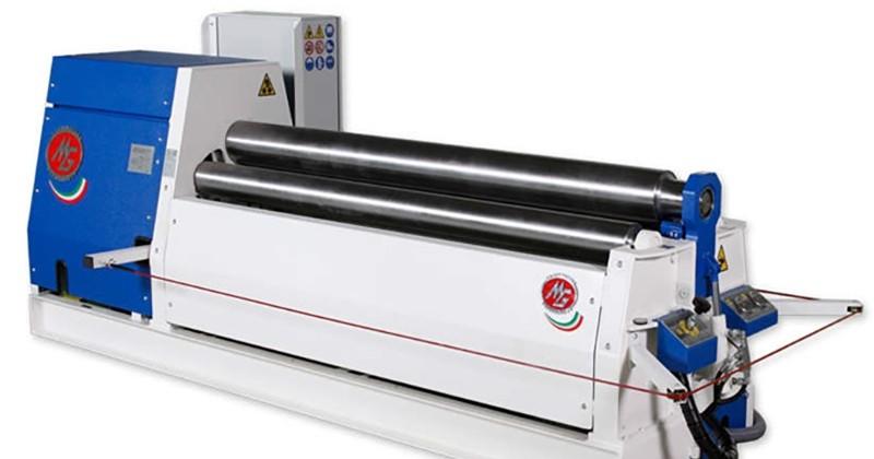 Nieuwe CNC-gestuurde platenwals